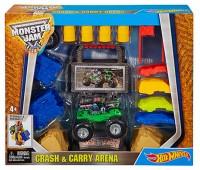 DJK61. Арена для трюков - игровой набор, серия Monster Jam. Hot Wheels