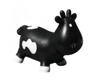"KFMC130302. Попрыгунчик ""Коровка Бетси"" черно-белая (с насосом) Milk Cow Betsy - Black & White. Kidzzfarm"