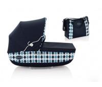 5274. AB05COBTB - Люлька CLASSICA с сумкой - Ballant. Blu. Inglesina