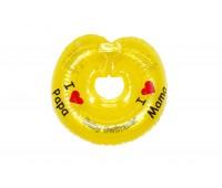 """Круг Babyswimmer желтый. Серия """"Я люблю"""" Вес 6 - 36 кг"""