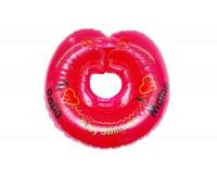 """Круг Babyswimmer красный. Серия """"Я люблю"""" Вес 6 - 36 кг"""