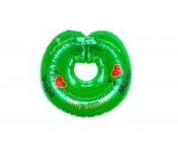 "Круг Babyswimmer зеленый. Серия ""Я люблю"" Вес 6 - 36 кг"