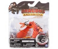 SM66610-2. Как приручить дракона: дракон Кривоклык де-люкс с механической функцией (27 см). Spin Master.