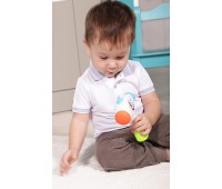 58008-1 Молоточек Изучай звуки (голубая ручка), BeBeLino