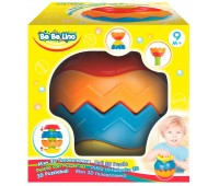 58076 Мяч 3D Головоломка с рельефной поверхностью, BeBeLino