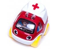 57036-3 Скорая помощь, инерционная машинка. BeBeLino
