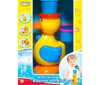 57033-2 Уточка Водяное колесо, синяя шляпка. BeBeLino