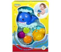 58002 Игрушка для ванной Дельфин Водяное колесо, BeBeLino