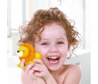 58004 Животные-пищалки для ванной Зоопарк (4 шт.), BeBeLino
