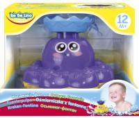 58050-1 Осьминог-фонтан, игрушка для купания (фиолетовый), BeBeLino