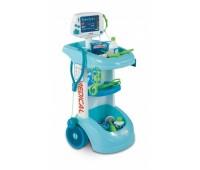 Smoby. Bao. Интерактивная тележка врача со световыми и звуковыми эффектами. 024659