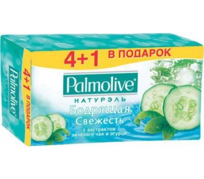"""TR01508A. Мыло PALMOLIVE Натурель """"Зеленый чай и Огурец"""" 70г, 4 1 бесплатно. Palmolive"""