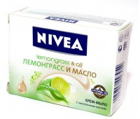 """80698. Крем-мыло """"Лемонграсс и масло"""", 100г. Nivea"""