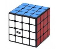 MYAS41. Игрушка-головоломка Кубик 4x4x4 mini Aosu black. MoYu