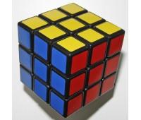 SS3364. Игрушка-головоломка ShengShou 3x3x3 Aurora/Jiguang black. ShengShou