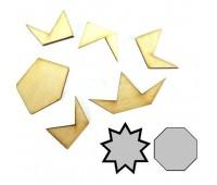 0008. Мини-головоломка геометрическая Восьмиугольник. Крутиголовка