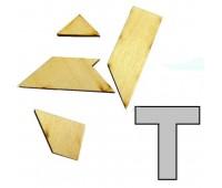 0009. Мини-головоломка геометрическая Тешка. Крутиголовка