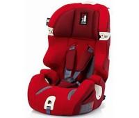 AV97E0RED. Автокресло PRIME MIGLIA I-FIX - Red 1/2/3 (Красный с серым). Inglesina. 7985