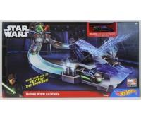 """CHB13. Игровой набор Hot Wheels Star Wars """"Приключения в далекой галактике"""". Hot Wheels. Mattel"""