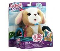 A9084-3. Интерактивная игрушка Забавные животные, Furreal Friends, коричневый щенок. Hasbro