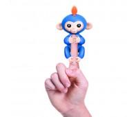 W3700/37030. Интерактивная ручная обезьянка (голубая)). WowWee