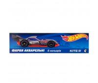 HW19-040 Краски акварельные в картонной упаковке Kite Hot Wheels, 6 цветов HW19-040. Kite
