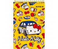HК19-196 Блокнот пластиковый KITE Hello Kitty HК19-196, А6, 48 листов, нелинованный. Kite