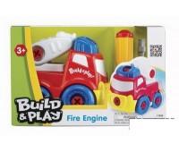 """K11935u. 2001346 Пожарная машина """"Строй и играй"""", конструктор. KeenWay"""