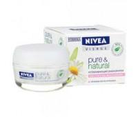 81185. Крем успокаивающий дневной Pure & Natural для сухой и чувствительной кожи, 50 мл. Nivea
