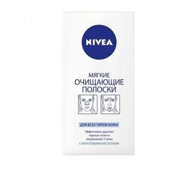 86401. Полоски мягкие очищающие для всех типов кожи, 8шт. Nivea