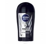 """82247. Дезодорант твердый антиперспирант """"Невидимый для черного и белого"""" для мужчин, 40 мл. Nivea"""