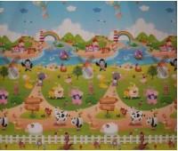 """SV200024. Коврик """"Веселая ферма"""", размером 1500*1800*10 мм. Babypol"""
