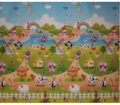 Купить Babypol. Веселая ферма, размером 1500*1800*10 мм, в интернет-магазине детских товаров Babys за 1 049 грн,  по низкой цене. Профессиональный и быстрый сервис