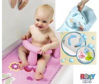 RO-00001. Коврик для ванной со съемным стульчиком 2 в 1. Roxy