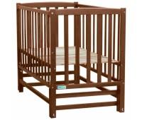 415. Кроватка Milena (BKP-0-0) Nussbaum (орех). Baby Sleep
