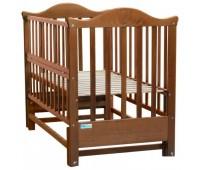 408. Кроватка Elena (BKP-S-0) Nussbaum (орех). Baby Sleep