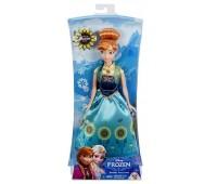 DGF54-1. Кукла Анна День рождения из м/ф Холодное сердце, Disney Frozen, Анна. Disney Princess
