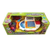 FS-34542. Игрушечный набор кассовый аппарат 2 калькулятор с аксессуарами. Joy Toy