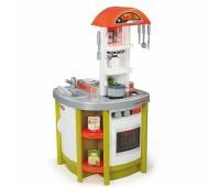 Smoby. Интерактивная кухня Tefal Studio Green с духовкой, холодильником, умывальником. 024810