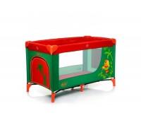 140. Манеж тур. Royal Jungle (Parrot) красно-зеленый. 4 Baby