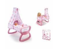 Smoby. Колыбель-кроватка Baby Nurse. 024015