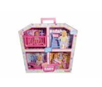 Simba. Кукольный набор Домик Мини NBB с 2 пупсами и аксессуарами. 5033388