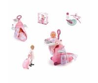 """Smoby. Игровой набор """"Раскладывающийся чемодан Baby Nurse"""". 024032"""
