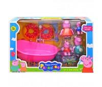 """Игрушечный набор """"PP"""" с ванной (коробка) YM8082 р.38*15*23см *"""