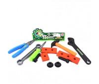 Набор инструментов BB8000-E (240шт/2) молоток, отвертка, аксес., в пакете 18см *