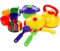 Юн.Набор посуды 17 пр (новый)