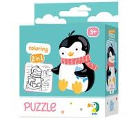 DODO Пазл 2в1 Пінгвінчик 16 елементів(40)