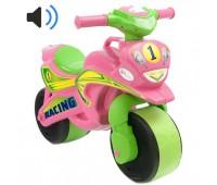 Мотобайк музыкальный Sport розовый