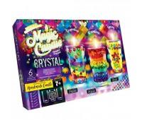 Комплект креативного творчества MAGIC CANDLE CRYSTAL парафиновые свечи с кристалами (5) 7320