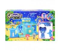 "Фигурки кукол с домиком ""GLIMMIES"" (озвуч со свет. эффект.) YM004L р.29*6,5*18,5 см"